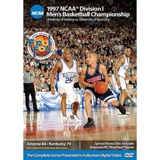 Arizona Wildcats Booksnvideos 1997 NCAA Championship Arizona vs
