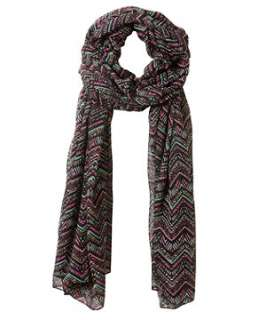 null (Multi Col) Tribal Print Scarf  245818099  New Look