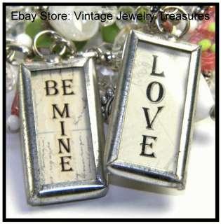 Green Heart Art Glass Cherub Charm Silver Bracelet NEW VALENTINES DAY