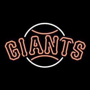 San Francisco Giants Team Logo Neon Sign Sports