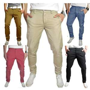 SELECTED HOMME THREE PARIS CHINO PANT HOSE NO JEANS / VIELE FARBEN