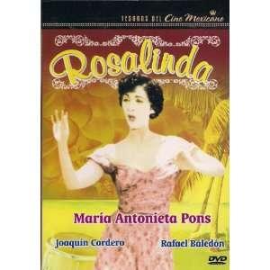 TESOROS DEL CINE MEXICANO:ROSALINDA: MARIA ANTONIETA PONS: Movies & TV