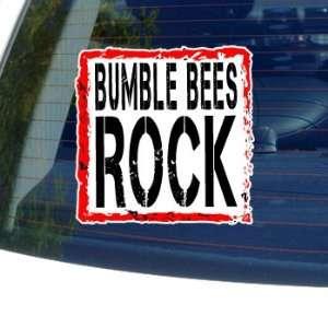 Bumble Bees Rock   Window Bumper Laptop Sticker