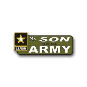 United States Army My Son is in the Army Bumper Sticker