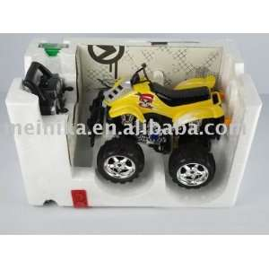 4 channel r/c dancing car green and blue Toys & Games