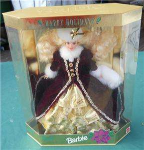 SPECIAL EDITION 1996 HAPPY HOLIDAY BARBIE DOLL MATTEL NRFB CHRISTMAS X