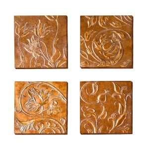 SEI Vine Wall Panel Art, Set of 4