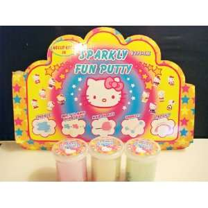 Hello Kitty Sparkly Fun Putty  Toys & Games