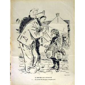 : LE RIRE FRENCH HUMOR MAGAZINE SOLDIERS STREET GIRL: Home & Kitchen