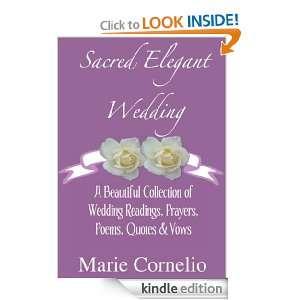 Prayers, Poems, Quotes & Vows: Marie Cornelio :  Kindle