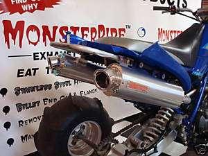 Yamaha Raptor 660 DUAL MonsterPipe Exhaust System