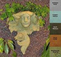 NOUVEAU MAIDEN PLANTER Wall Accent GARDEN Flower Pot OUTDOOR Yard USA