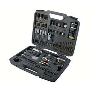 Drive Reversible Air Drill Kit with Chuck & 1/4 Drive Mini Air Die