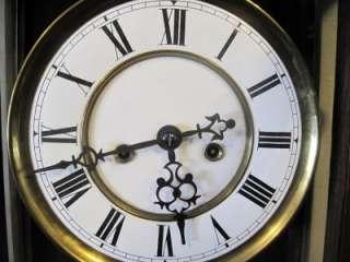Gustav Becker 2 wt.Time & Strike Vienna Regulator Clock