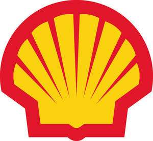 SHELL OIL Gasoline Vinyl Decal 5 wide FULL COLOR
