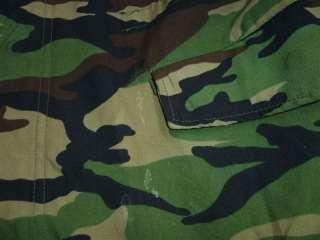 ROK KOREA ARMY CAMO FIELD JACKET 4 POCKET ZIPPER PATCHES,Nice