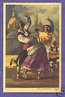 S8422 Dance Postcard   Spain   Jota Aragonesa   Aragon