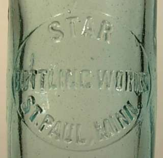STAR BOTTLING WORKS ST PAUL MINN MN HUTCHINSON BOTTLE