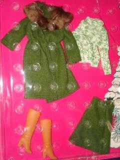 PARA BARBIE Y VALERIE Doll En Inveirno Outfit 1975 Mexico MOC!