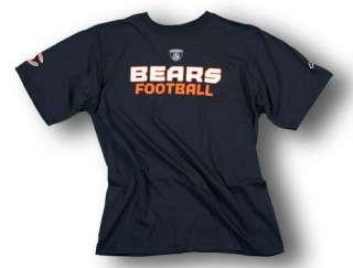 CHICAGO BEARS S/S SIDELINE SHIRT NFL MENS NEW NAVY S