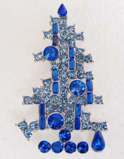 SWAROVSKI CRYSTAL CHRISTMAS TREE PIN WHOLESALE LOT 20
