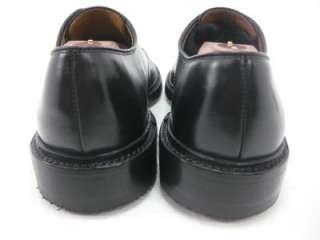 Allen Edmonds BRENTWOOD Black Leather Dress Shoes Oxfords 9 D Retail $