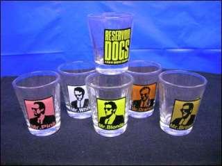 Reservoir Dogs 15th Anniversary Glass Shot Glasses