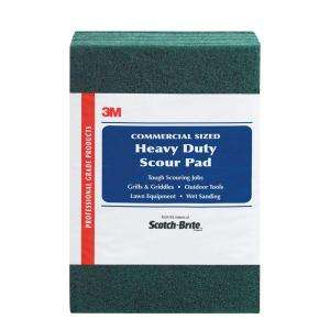 Scotch Brite Heavy Duty Commercial Scour Pad (8 Pack) 220 8 CC at The