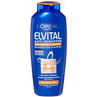 Oréal Paris Elvital Shampoo Anti Schuppen Intensiv Normal, 2er Pack