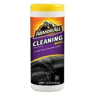Armor All Multi Purpose Cleaning Wipes (25 Pack) 7061210863 at The