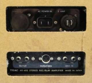 Teac Model AR 40S Stereo Reel To Reel Tape Deck