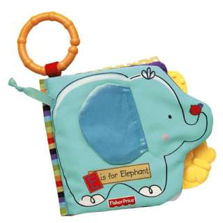 Fisher Price Luv U Zoo Friends Book Baby Learning Toys