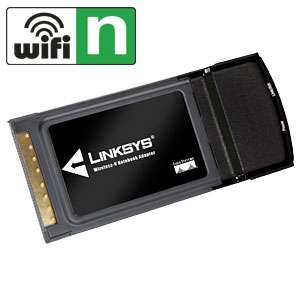 Linksys WPC600N Dual Band Wireless N Notebook Adapter   300Mbps, 802