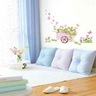 SPRING FLOWERS Vinyl Art Wall Decal Sticker Decor Paper