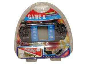 BRAND NEW Portable Tetris Game w/ Radio Hand Held