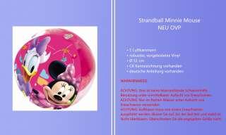 Strandball aufblasbar Wasserball Rosa Ball Minnie Mouse Disney