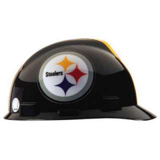MSA Safety Works Pittsburgh Steelers NFL Hard Hat 818438 at The Home