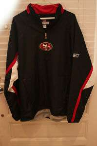 San Francisco 49ers NFL Sideline Authentic Jacket LARGE