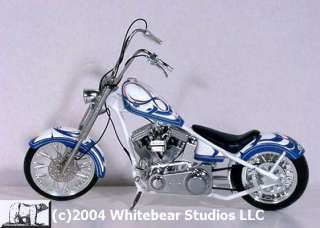 MISS LUCY MISS BIKE ORANGE COUNTY CHOPPERS 1/10 SCALE