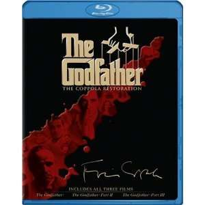 THE GODFATHER BLU RAY TRILOGY PACK ★