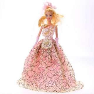 NEW 15 fashion handmade styles barbie wedding Dress Clothes for Barbie