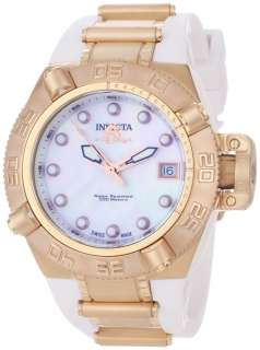 Invicta Womens 0541 Subaqua Noma IV 18k Rose Gold Plated Stainless