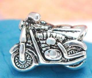 GENUINE SILVER EUROPEAN BEAD CHARM MOTORCYCLE Harley 59
