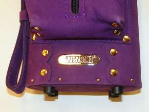 New Instroke Buffalo 2x4 Purple LTD Suede Leather Case