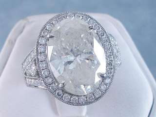 30 CT TW OVAL CUT DIAMOND ENGAGEMENT RING