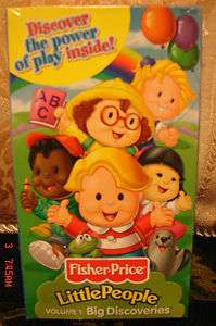 Little People Big Discoveries Volume 1 VHS Video NEW FACTORY SEALED $