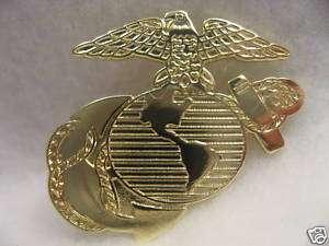 US Marine Corps Goldtone Lapel pin/ Marine Insignia