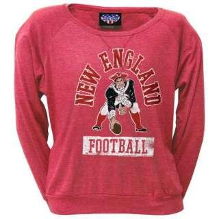 New England Patriots   Vintage Logo Ladies Long Sleeve