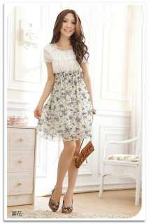 New 2012 Korean Fashion Womens Stylish Chiffon Tunic Mini Short