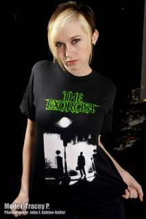 EXORCIST SHIRT HORROR MOVIE DEVIL DEMON POSSESSED SATAN
